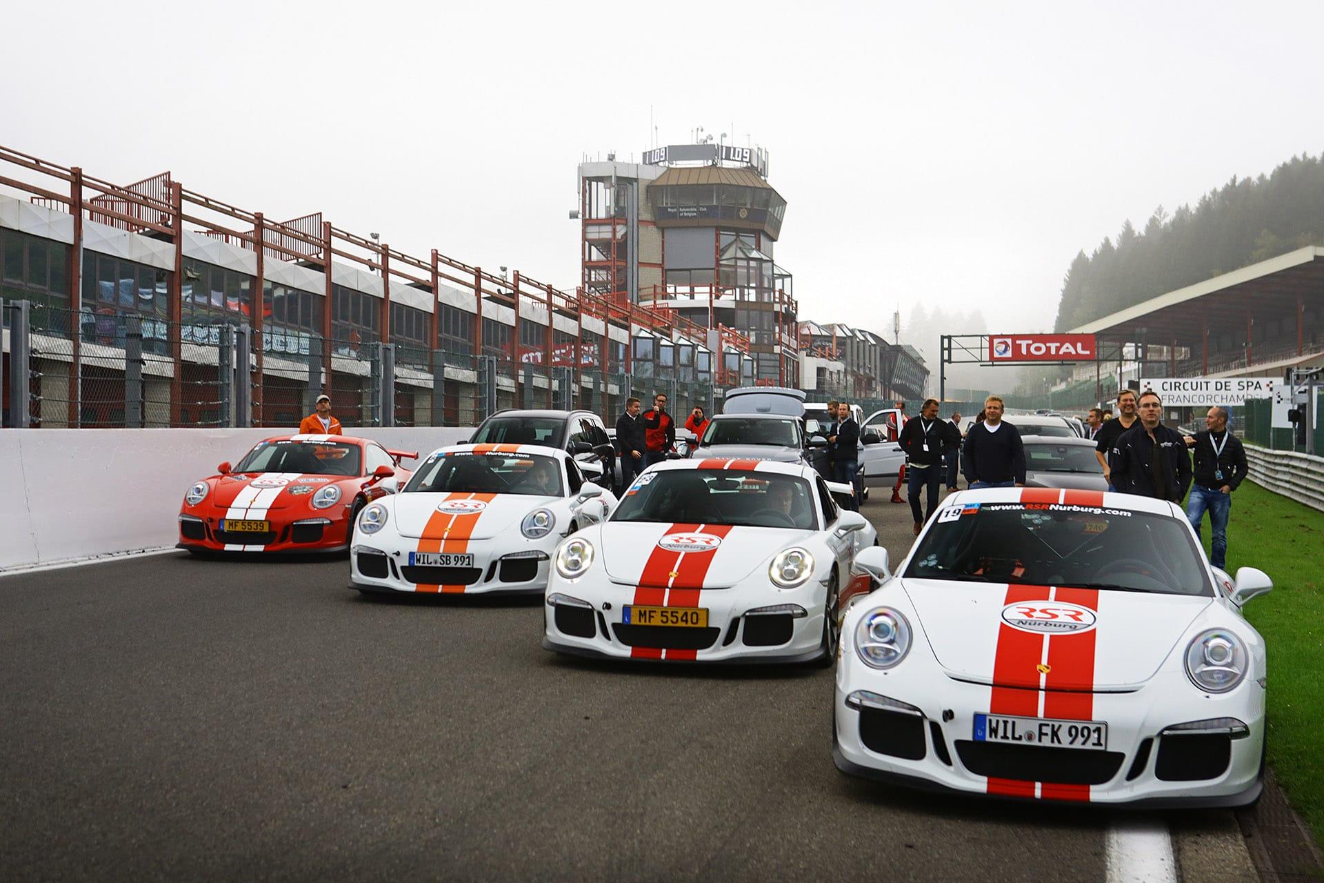 Trackdays auf der Rennstrecke Spa-Francorchamps – the thrill of the ride